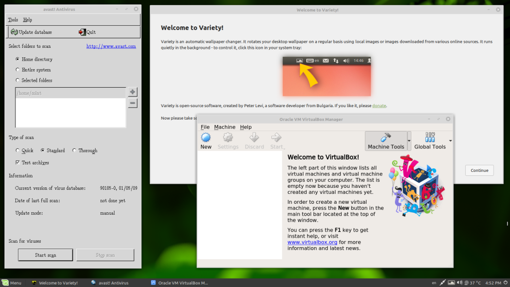 Linux Mint 19 1 Mate PE - Easyhome in Thailand